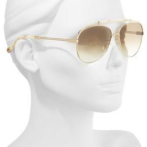 Chloe 59mm Aviator Sunglasses